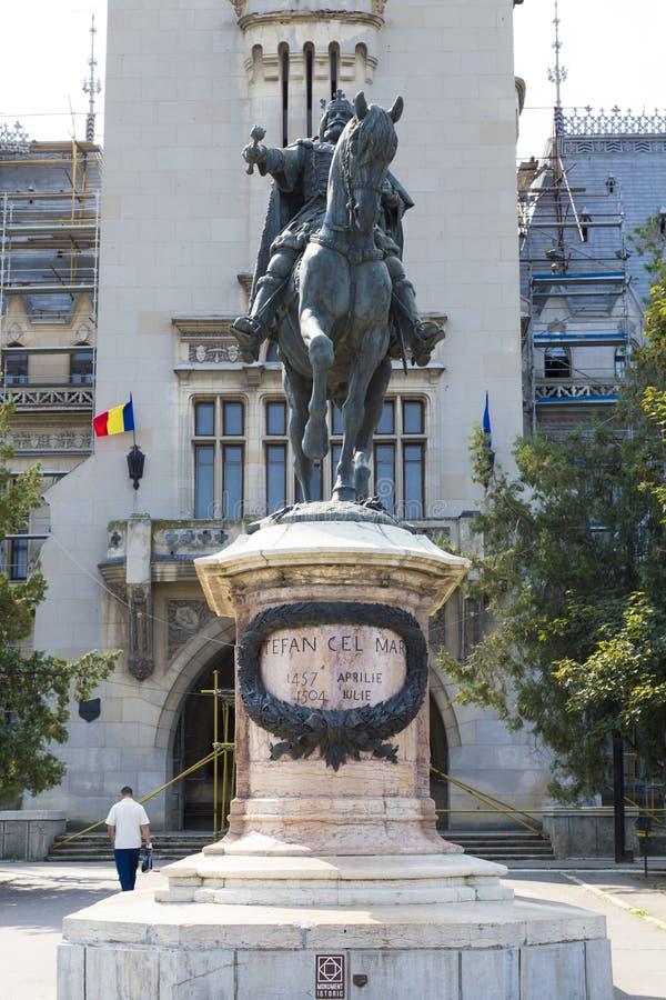 Статуя конематки Stefan cel стоковое изображение