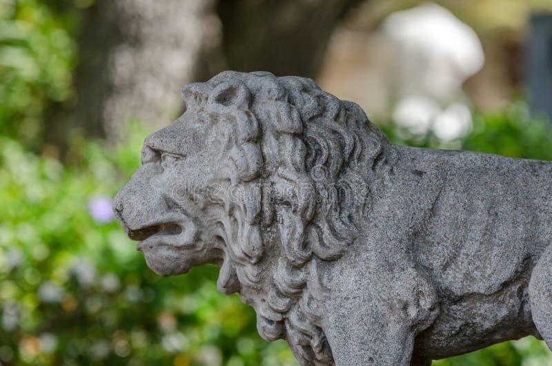Статуя Леона стоковые фото