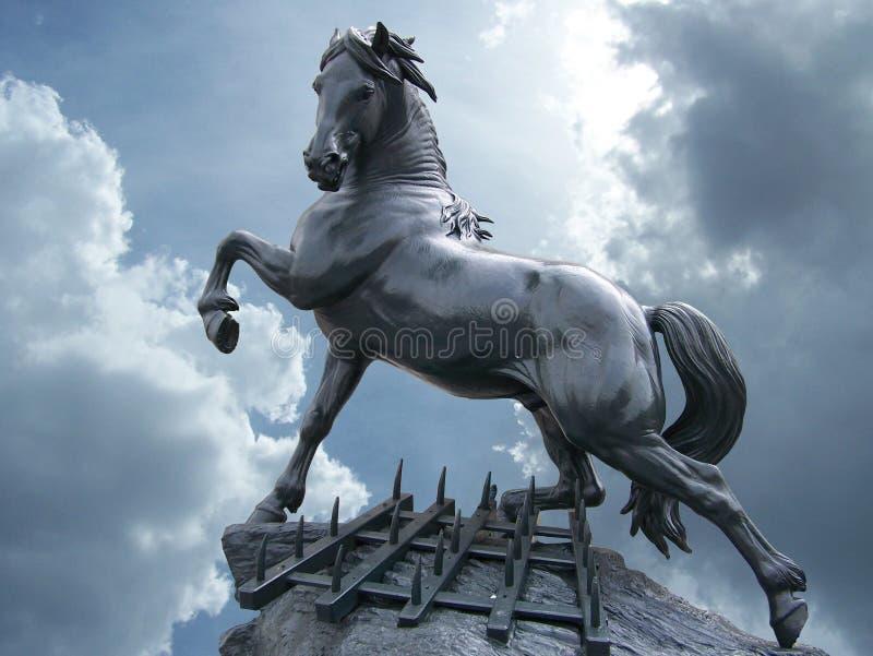 статуя лошади стоковое изображение