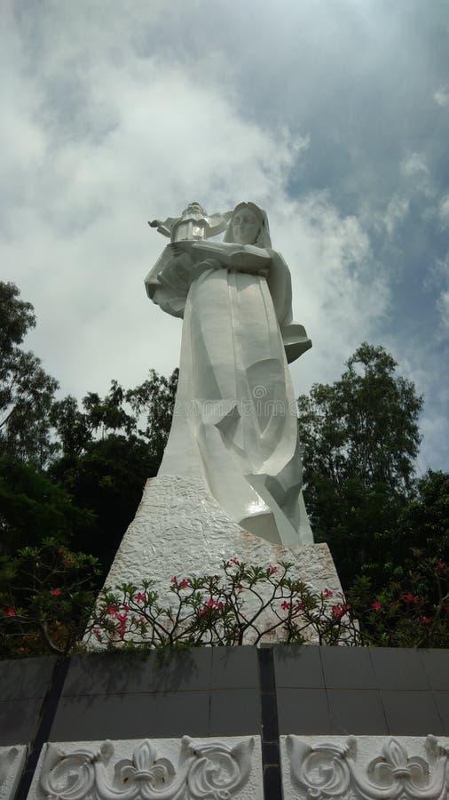 Статуя Марии стоковое изображение rf