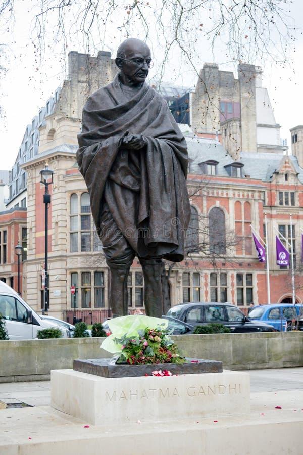 Статуя Маюатма Гандюи стоковое изображение rf