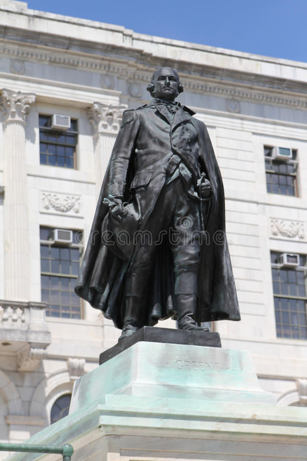 Статуя Натаниэля Greene стоковые изображения