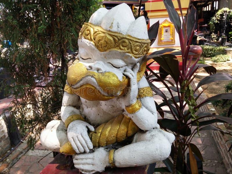 Статуя обезьяны стоковые изображения rf