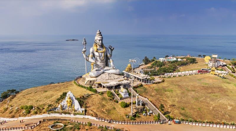 Статуя лорда Shiva стоковые фото