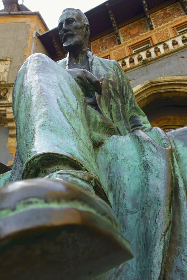 Статуя отсчета Sandor Karolyi стоковые изображения rf