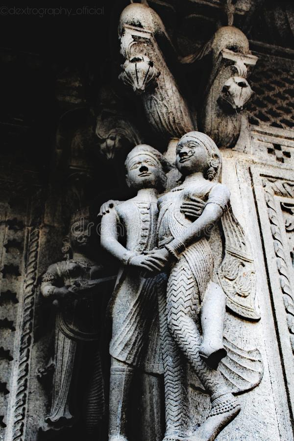 Статуя пары стоковое фото