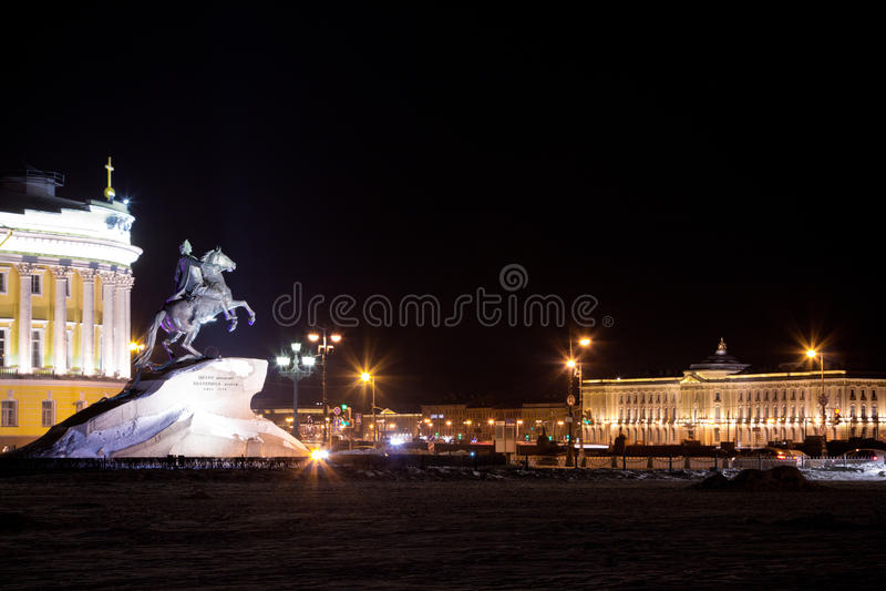 Статуя Питера большой стоковая фотография