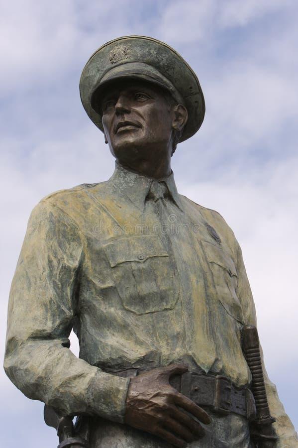статуя полицейския стоковые изображения rf