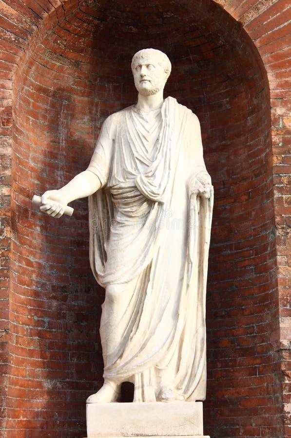Статуя римского сенатора стоковые фото
