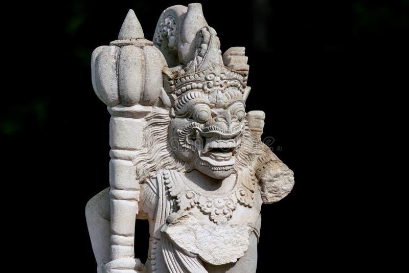 Статуя сада балийского попечителя виска стоковые фото