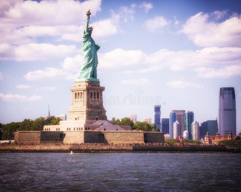 Статуя свободы, Нью-Йорк, NY стоковая фотография rf