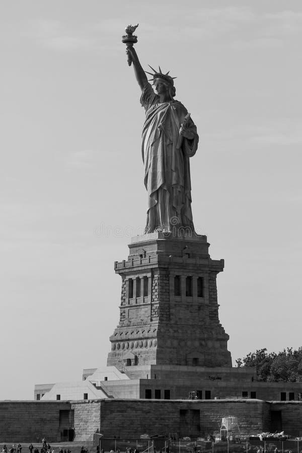 Статуя свободы, остров свободы стоковое фото rf