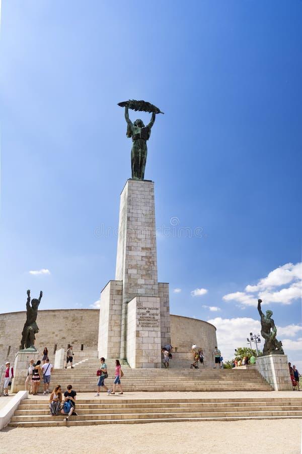 Статуя свободы, Будапешт, Венгрия стоковая фотография
