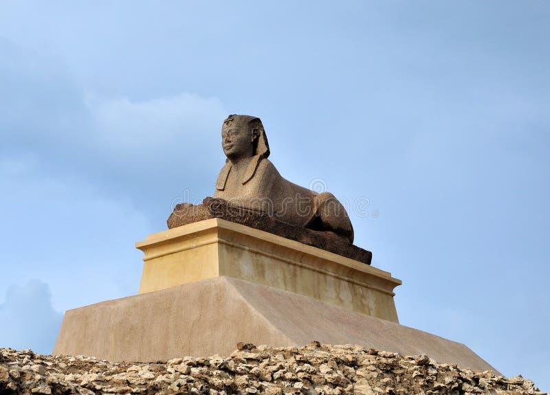 статуя сфинкса холма стоковые фото