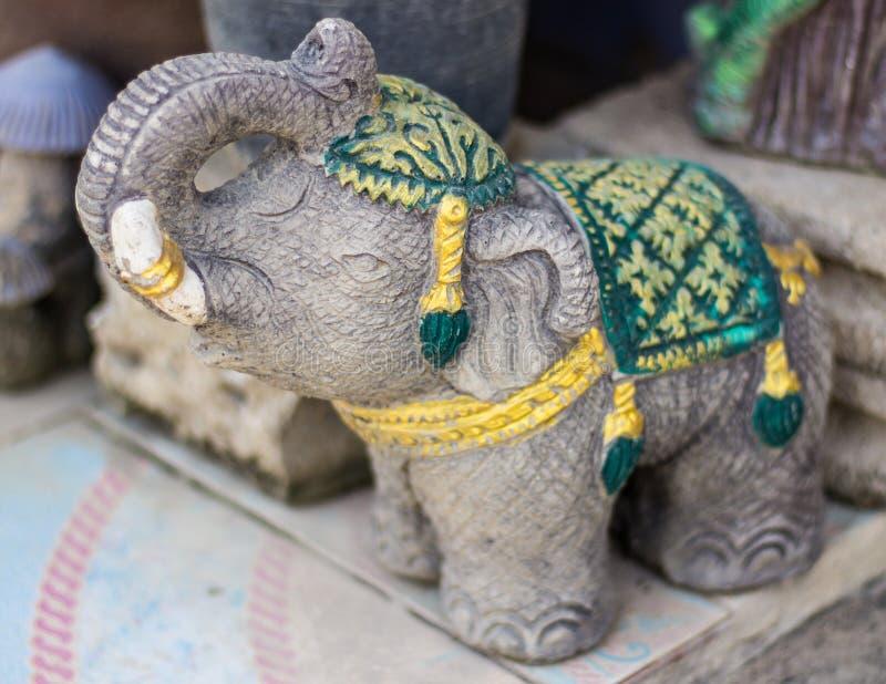 статуя слона тайская стоковое изображение rf