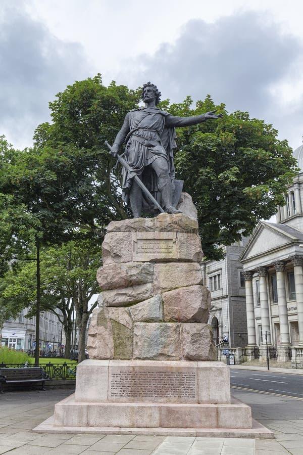 Статуя Уильям Уоллес стоковое изображение rf