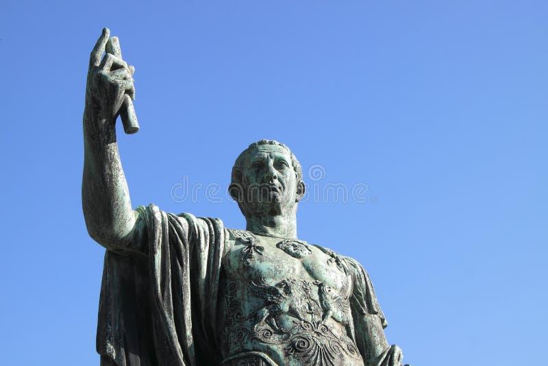 статуя цезаря julius augustus стоковые изображения