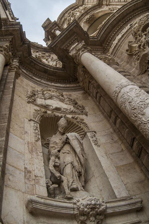 Статуя церков стоковая фотография