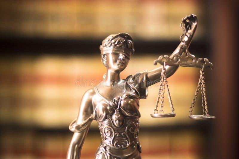 Статуя юридического офиса законная стоковая фотография