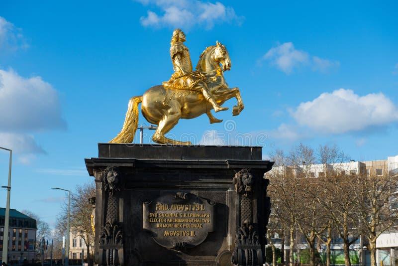 Статуя Augustus II стоковое фото
