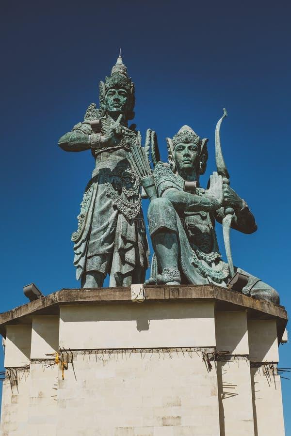 статуя balinese индусская стоковые изображения