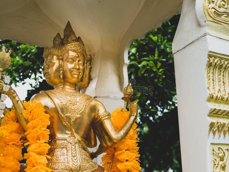Статуя Brahma стоковые изображения rf