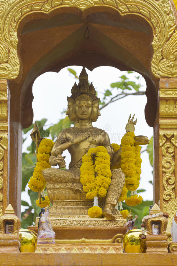 статуя brahma стоковое фото rf