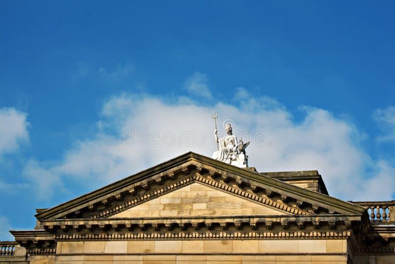 Статуя Britannia стоковые фотографии rf