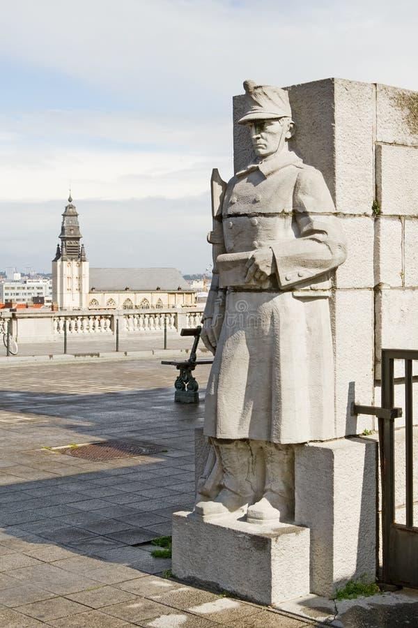 статуя Brussels Стоковые Изображения RF