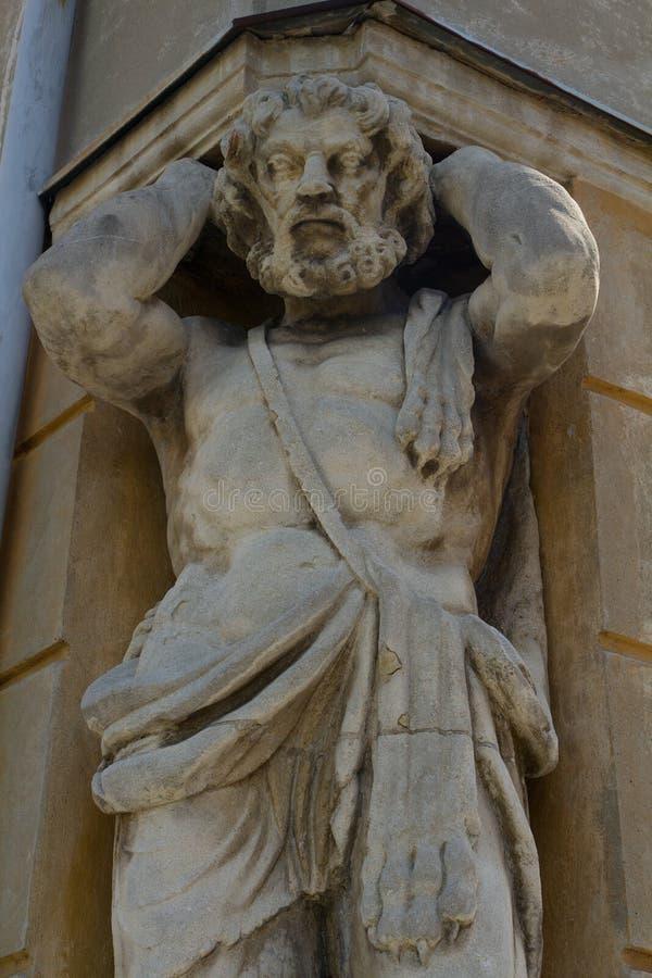 Статуя Corgon в Nitra, Словакии стоковое фото
