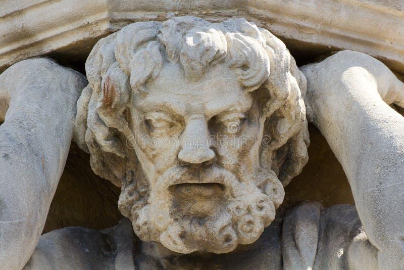 Статуя Corgon в Nitra, Словакии стоковые изображения