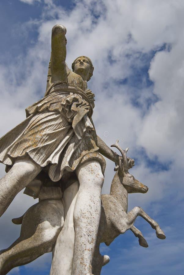 статуя diana стоковое изображение