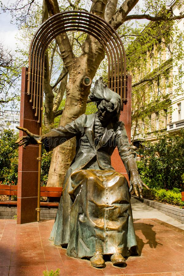 Статуя Ferenc Liszt, Будапешта, Венгрии стоковое фото rf