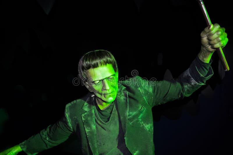 Статуя Frankenstein стоковое изображение rf