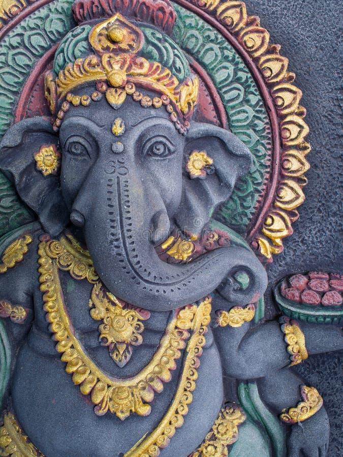 Статуя Ganesh излучает престижность стоковое фото rf