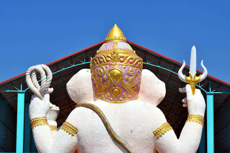 Статуя Ganesha стоковое фото rf