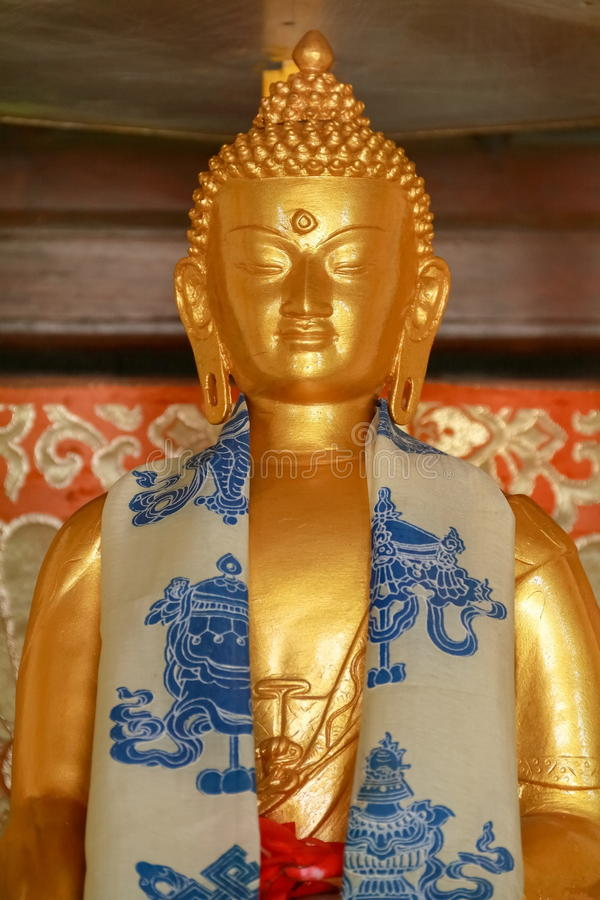 статуя gautama Будды стоковое изображение
