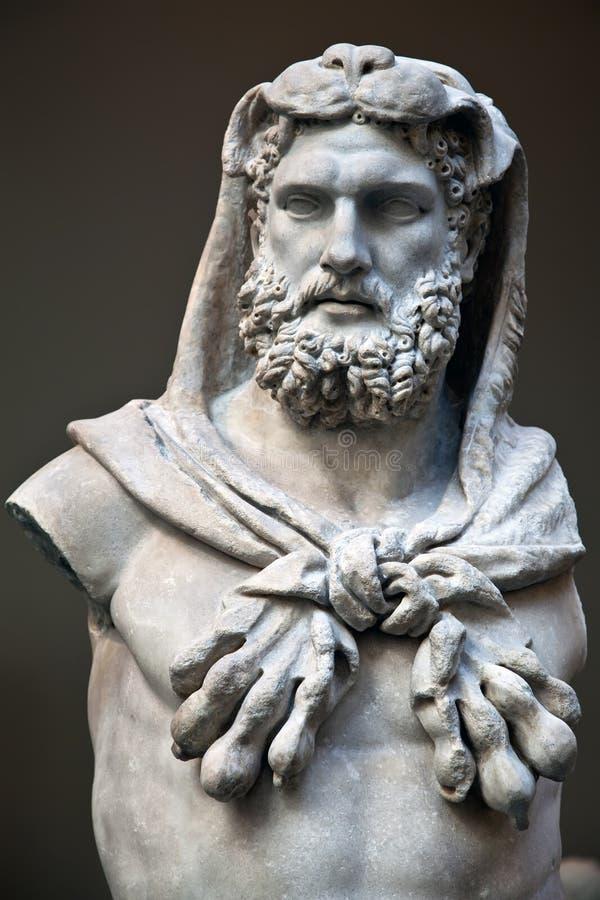 статуя hercules стоковая фотография rf