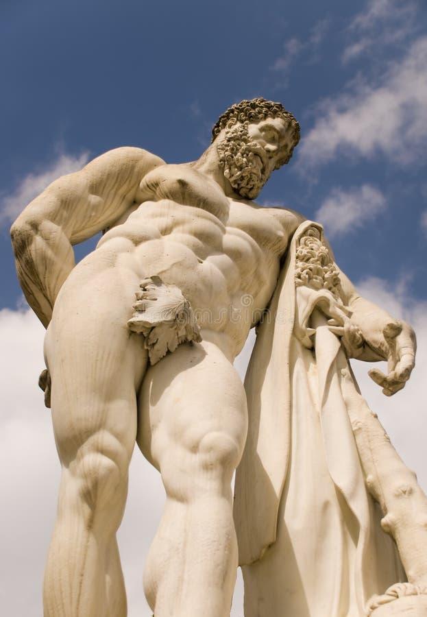 статуя hercules стоковые изображения rf