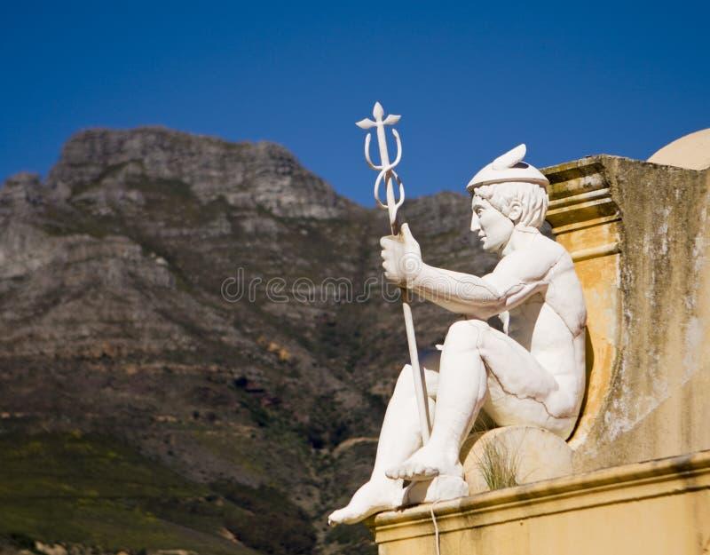 статуя hermes стоковое изображение