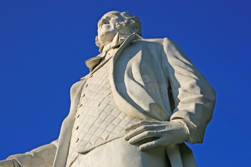 статуя houston sam стоковые изображения