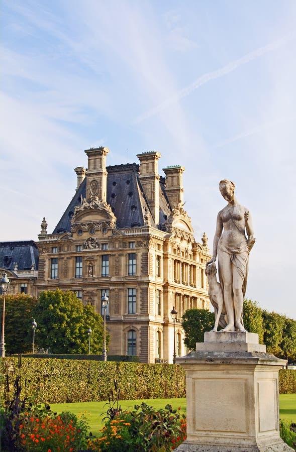 статуя huntress diana стоковое фото rf