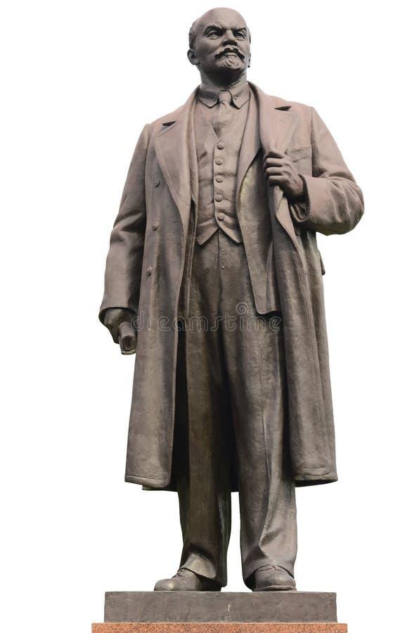 статуя lenin стоковое изображение rf