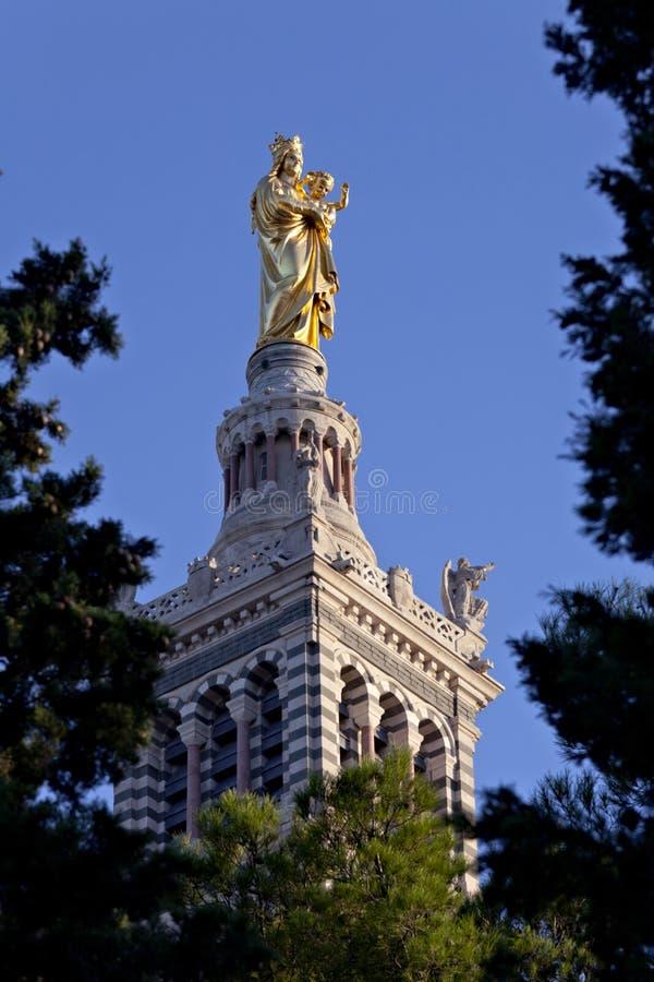 статуя madonna ребенка стоковые фотографии rf