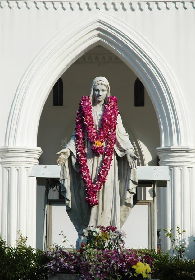 статуя Mary Стоковые Фото
