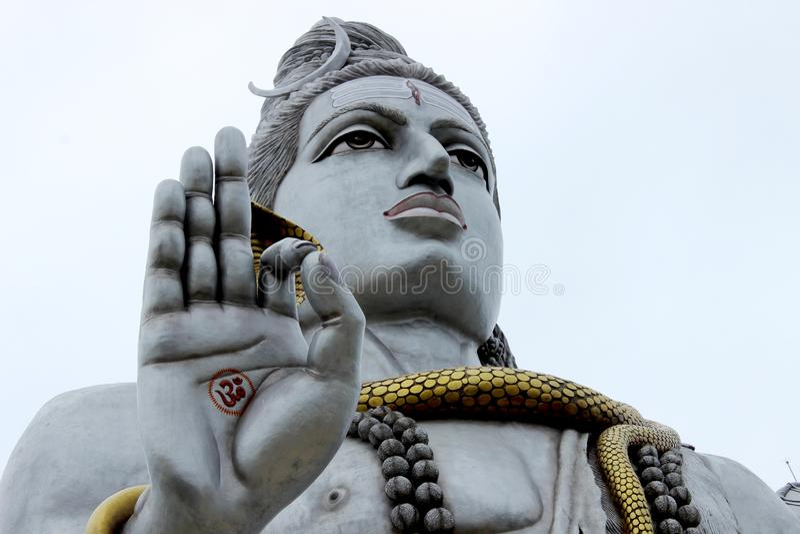 Статуя Murdeshwar Shiva стоковая фотография