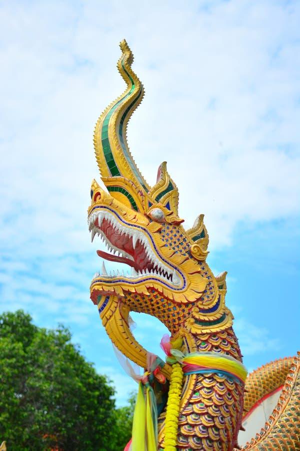 Статуя Naga стоковая фотография rf