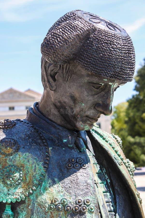 Статуя nimeno ii матадора стоковые фото