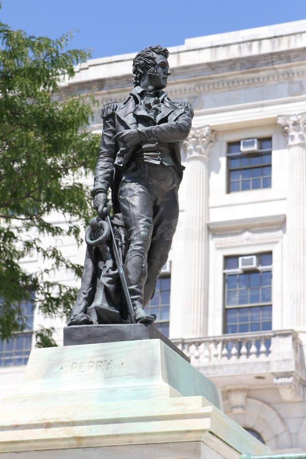 Статуя Perry опасности Оливера стоковое фото
