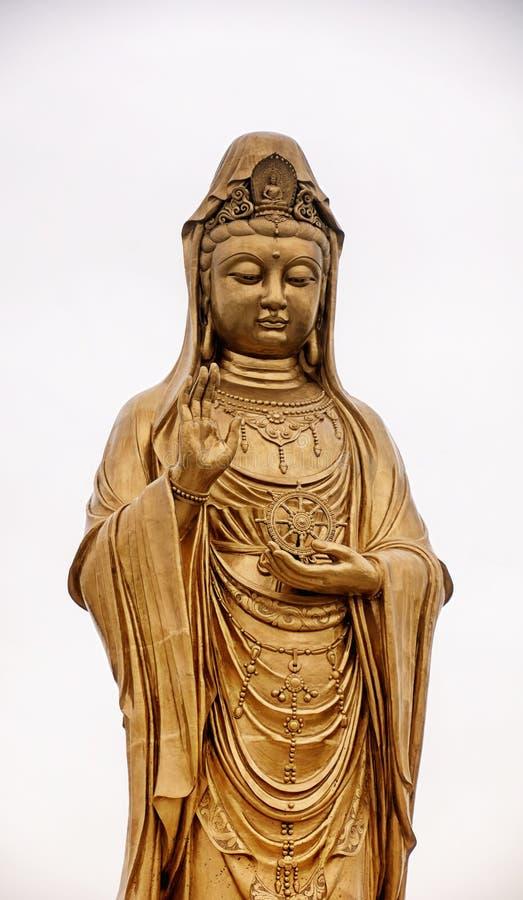 Статуя Putuoshan Китай Guanyin буддийская стоковые изображения